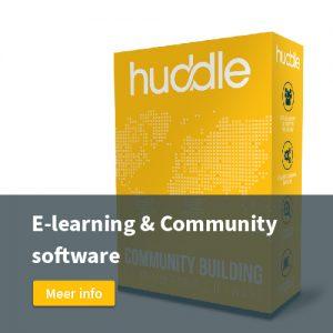 huddle software community en e-learning