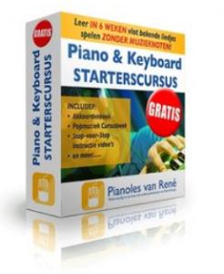 starterscursus piano rene knops